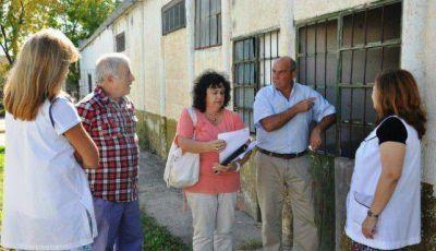 Por refacciones y mejoras, visitaron la Escuela N° 27