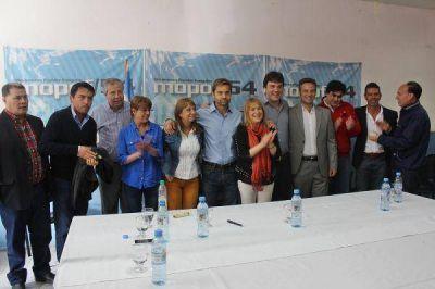 Se proclam� la candidatura para la gobernaci�n Sciurano � Boyadji�n