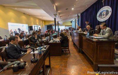 La Legislatura sesionó por primera vez en un año de elecciones