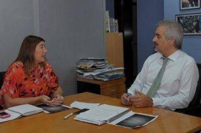 Bertone anunció la habilitación de nación para licitar construcción