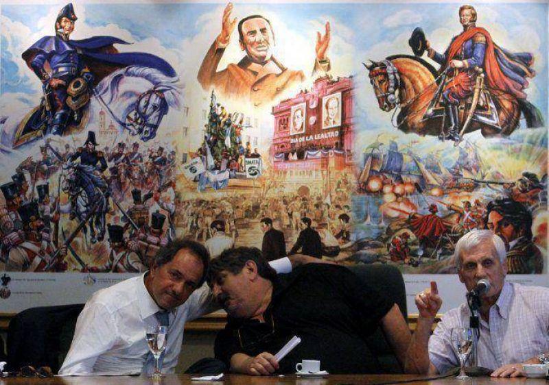Gremios de CGT de Caló apoyaron precandidatura presidencial de Scioli