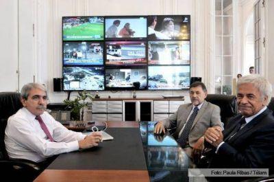 El jefe de Gabinete y De la Sota analizaron la ayuda económica para la provincia de Córdoba