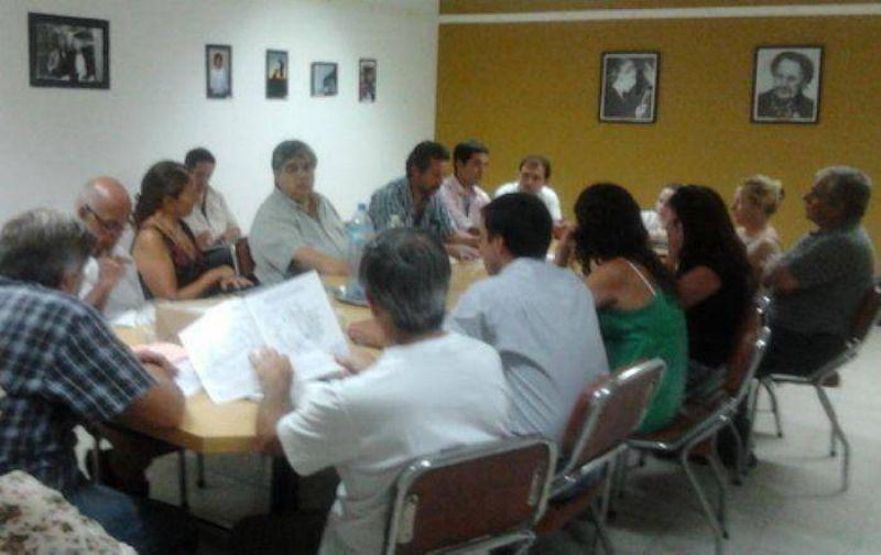José Rigane se reunió con concejales de Balcarce para pedir la repotenciación de la Central 9 de Julio
