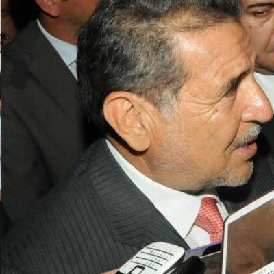 Beder Herrera recibió a familiares del piloto fallecido