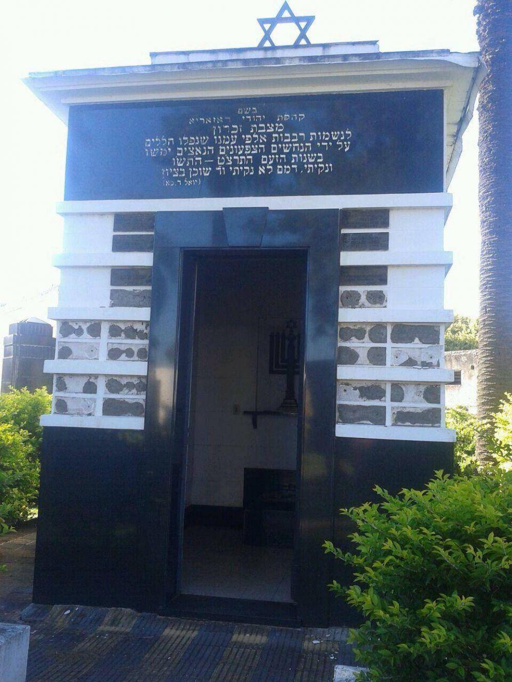 Antisemitismo/Argentina: El Centro Wiesenthal acompaña los reclamos de la comunidad judía de Rosario por los ataques al cementerio