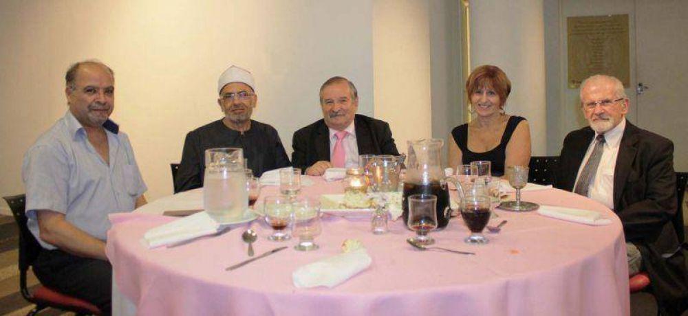 La DAIA en la cena interreligiosa por la paz mundial de la UPF