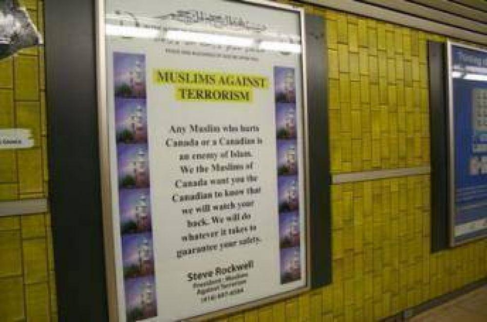 Musulmanes presentan el islam en el metro de Toronto