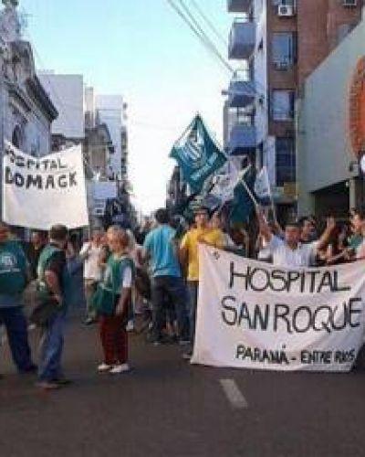 Reclamos: trabajadores de salud retoman el estado de asamblea y movilización