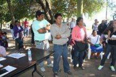 Sector de Félix Díaz volvió a impedir inicio de obras del centro de salud
