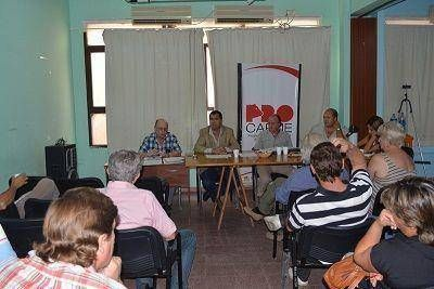 Se realizó la reunión plenaria de la COPROSA