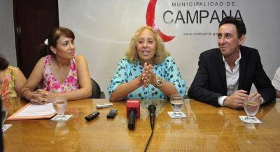 La Intendente Giroldi anunció la próxima inauguración de la Escuela Técnica Nº 2