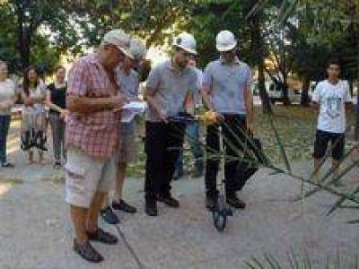 Subestaci�n el�ctrica en Quilmes: Comenzaron con las mediciones de los campos electromagn�ticos