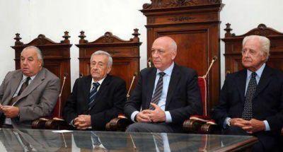 El gobernador participó de la apertura del año judicial