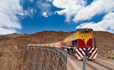 El 31 de marzo es la salida inaugural del Tren a las Nubes desde su estatización
