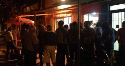 Elecciones 2015: Ante un grupo de militantes, Pángaro lanzó su candidatura