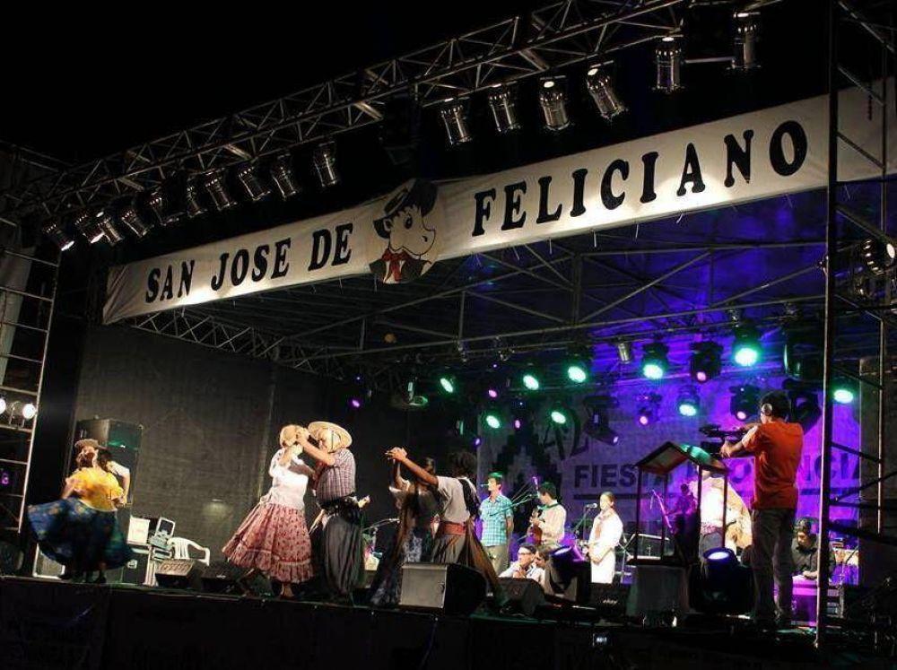 Feliciano vivió una nueva noche de la Fiesta del Ternero