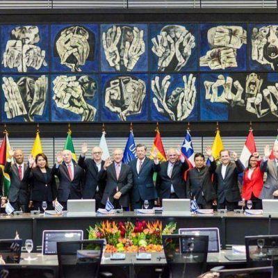 Cristina destacó el rechazo de Unasur a la injerencia de EE.UU. en Venezuela