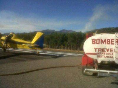 Un nuevo incendio afecta el Parque Nacional Los Alerces en Chubut