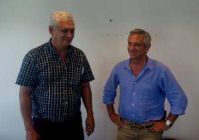 Jos� Eseverri se reuni� con el precandidato a Intendente del Frente Renovador de Pergamino Guillermo Illia