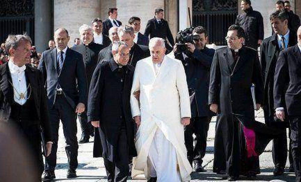 El Papa y comunión y liberación