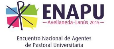 Encuentro Nacional de Agentes de Pastoral Universitaria 2015