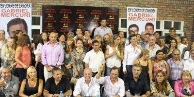 Reunión del Frente Renovador en Lomas de Zamora