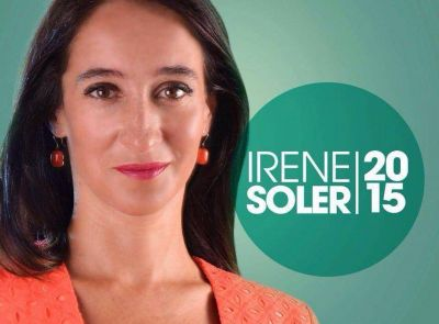 Irene Soler de Diputada a Concejal, para aportar al proyecto de ciudad con David