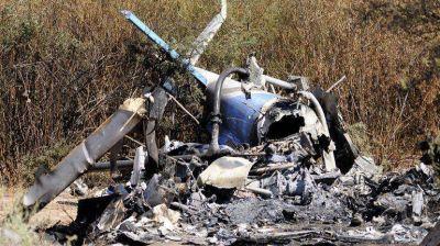 Tras una semana del choque de helicópteros, identificaron los cuerpos de las víctimas