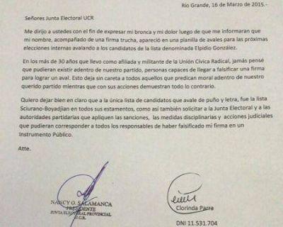 Denuncian al Dr. Javier Da Fonseca por falsificación de documento público