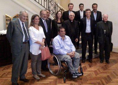 Mons. Lozano se reunió con Mauricio Macri
