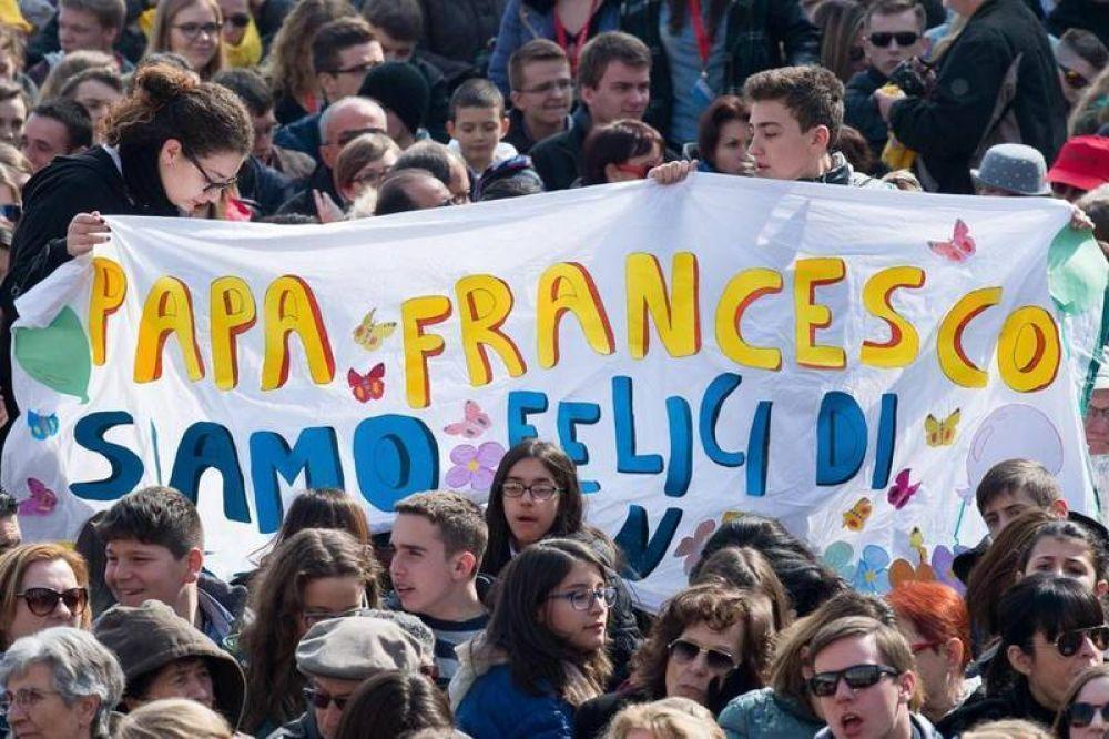 El Papa: «¿El sueño de amor de Dios? Somos nosotros, los seres humanos»