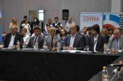 Ministros de Salud del país se reúnen en el COFESA, que preside Gollan