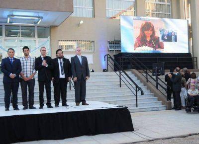 "UNSL: inauguraron oficialmente la Biblioteca Central ""Antonio Esteban Agüero"""