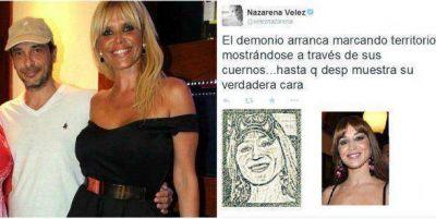 Nazarena Vélez le dice