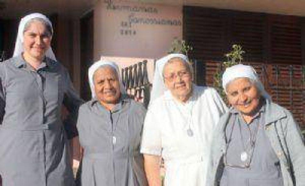 Las Canossianas festejan hoy 30 años de servicio en Quequén