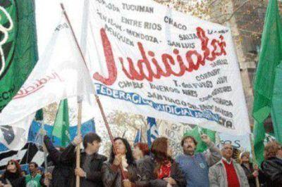 Este miércoles volverán a parar los judiciales de la provincia de Buenos Aires