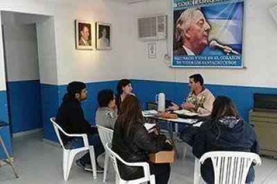 Concejal recibe a referentes de Desarrollo Social de Nación