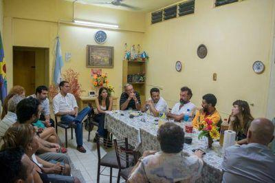 El Frente para la Victoria de Vicente López junto a los clubes de barrio