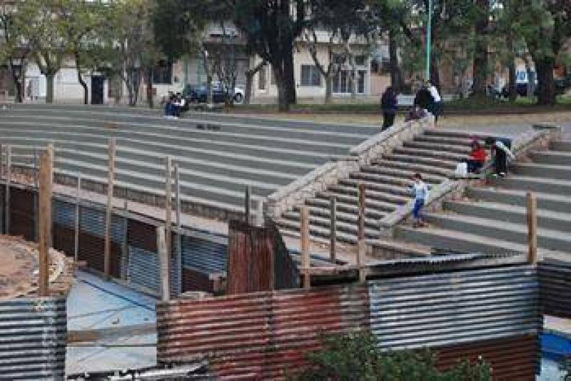 """Plaza Italia """"Estamos en condiciones de seguir con las obras"""""""