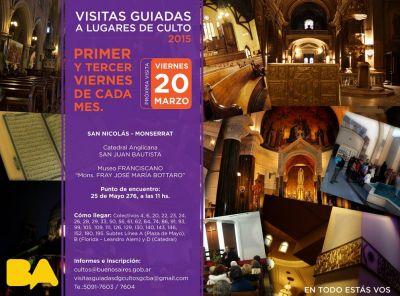 Primera visita guiada del año a lugares de culto de la Ciudad