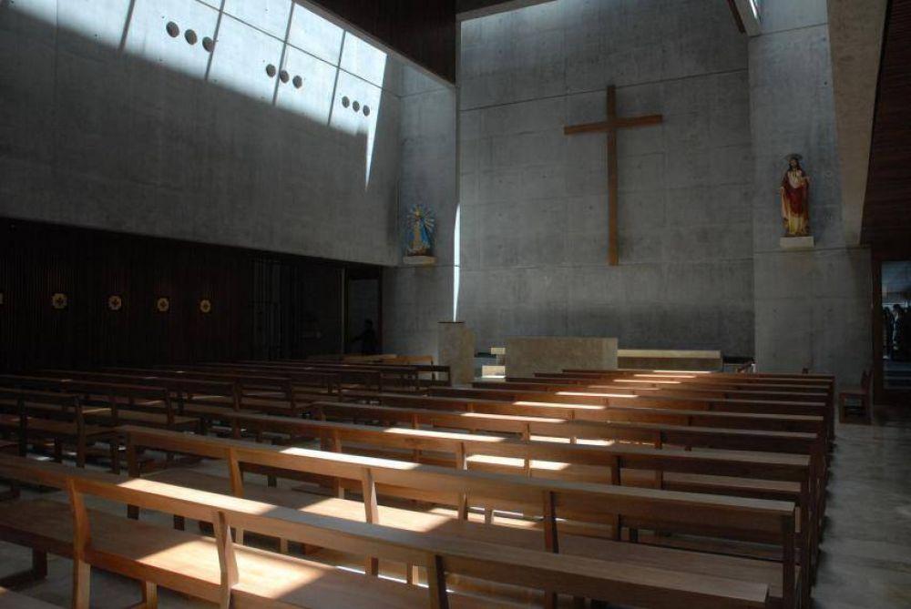 Inauguran la Iglesia del Corazón de Jesús, templo mayor de la UCA