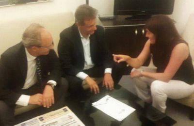 Pulti se reuni� con la Ministra de Seguridad de la Naci�n y el fiscal Adler