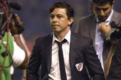 La Conmebol suspendió a Marcelo Gallardo, quien no podrá dirigir los próximos dos partidos de Copa