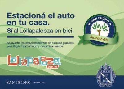 Con un mensaje sustentable, San Isidro recibe al Lollapalooza