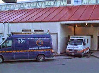 Ciclista al Hospital con lesiones en Ushuaia