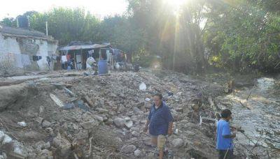 Agua: en Sierras Chicas no pagarán un mes