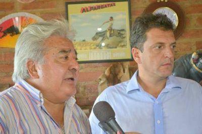 Billetera mata gal�n: Massa, necesitado de recursos para la campa�a, bendijo a Julio Ledesma