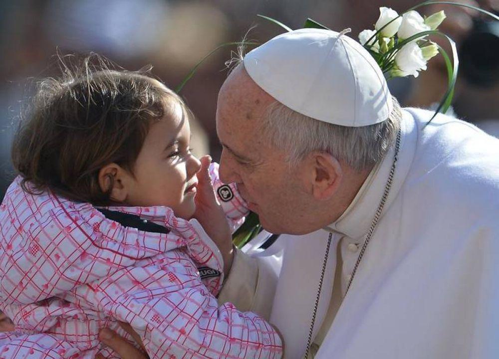 Francisco: una sociedad sin niños es triste y gris