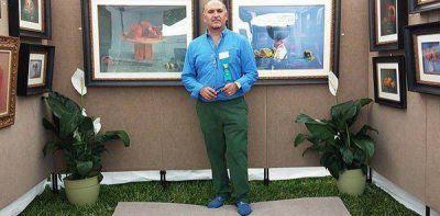 Artista de exportación: entrevista desde Estados UnidosAbel Márquez es de Trelew y en el año 2008 recibió la medalla de oro de la Sociedad Americana de Pastel, en New York.