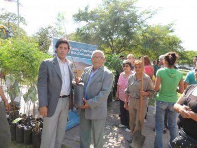 Ambiente festejó el Día Mundial de la Forestación y del Agua